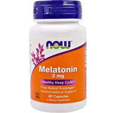 NOW Melatonin 3mg 60caps