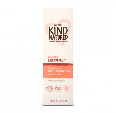 KIND NATURED GINSENG & GRAPEFRUIT BRIGHTENING DAILY MOISTURISER 75ml