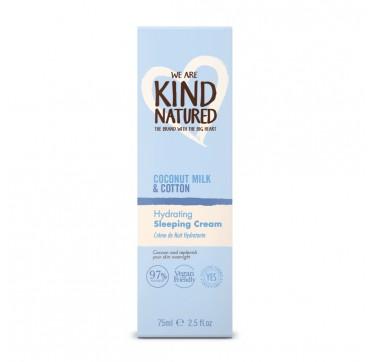 Kind Natured Coconut Milk & Cotton Hydrating Sleeping Cream 75ml