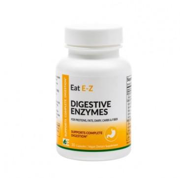 DYNAMIC ENZYMES EAT E-Z ORIGINAL FORMULA 30vcaps