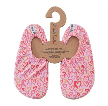 Slipstop Fly Hearts Αντιολισθητικά Καλτσακια