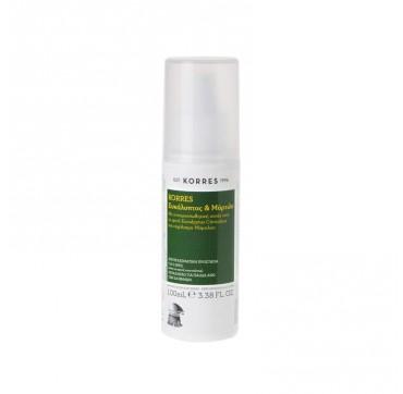 Korres Insect Repellent Εντομοαπωθητικό Γαλάκτωμα Σε Σπρέι Με Ευκάλυπτο Και Μύρτιλο 100ml