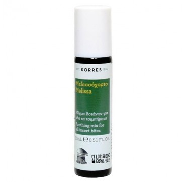 KORRES SOOTHING MIX FOR ALL INSECT BITES ΜΕΛΙΣΣΟΧΟΡΤΟ STICK ΓΙΑ ΤΣΙΜΠHΜΑΤΑ 15ml