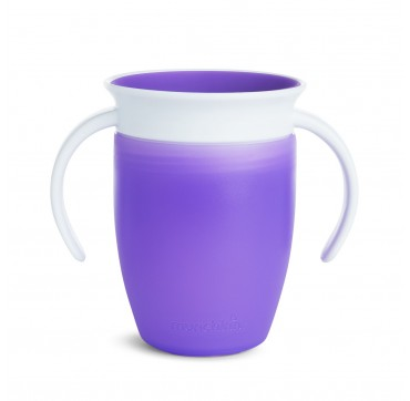 MUNCHKIN MIRACLE 360 TRAINER CUP PURPLE (12272) 6m+ 207ML