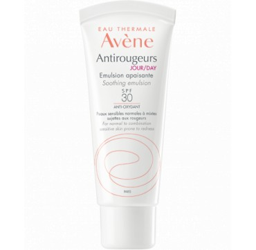 Avene Antirougeurs Jour Emulsion SPF30 Καταπραϋντική Emulsion Ημέρας 40ML