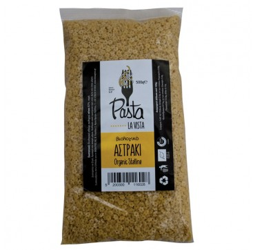 Pasta La Vista Βιολογικό Αστράκι Organic Stelline 500g
