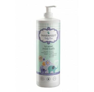 Pharmasept Tol Velvet Mild Bath Baby Απαλό Βρεφικό Αφρόλουτρο Σώμα/μαλλιά 1lt