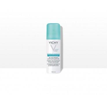 Vichy Deodorant Anti-Transpirant 48H Anti-Traces Αποσμητικό Σπρέι κατά των Σημαδιών 125ML