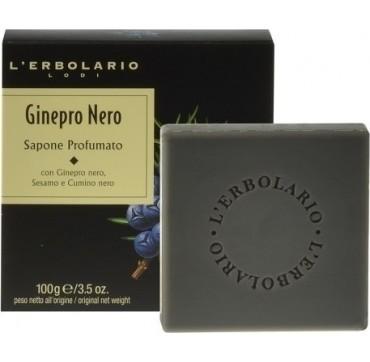 L'ERBOLARIO Lodi Ginepro Nero Perfumed Soap Αρωματικό Σαπούνι 100g