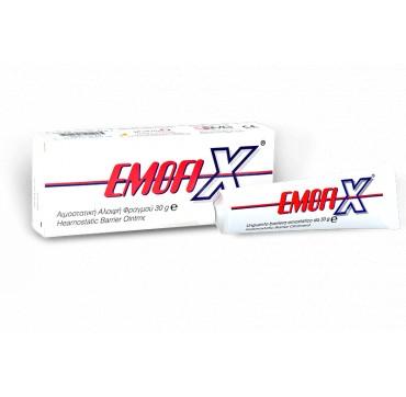PharmaQ Emofix Αιμοστατική Αλοιφή Φραγμού 30g