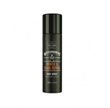 THE SCOTTISH FINE SOAPS MEN'S GROOMING Thistle & Black Pepper Body Spray 150ml