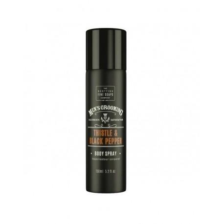 THE SCOTTISH FINE SOAPS MEN'S GROOMING Thistle & Black Pepper Body Spray 150ml