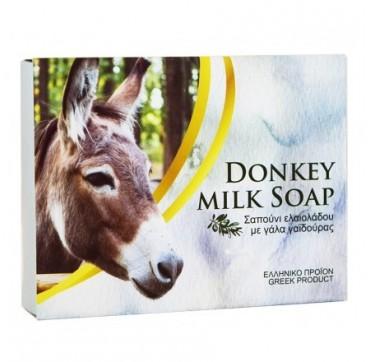 Donkey Milk Soap Σαπούνι Ελαιολάδου Με Γάλα Γαϊδούρας 100g