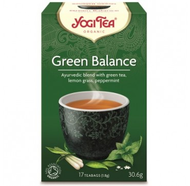 Yogi Tea Green Balance 17teabags