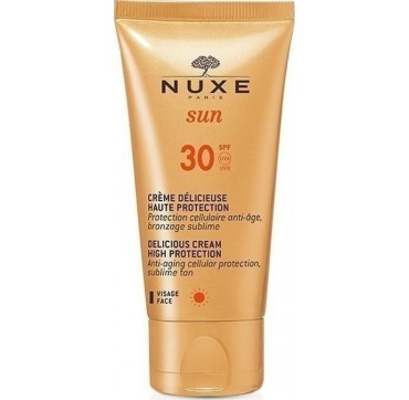 Nuxe Αντηλιακή Κρέμα Προσώπου Delicious Cream Spf30 50ml