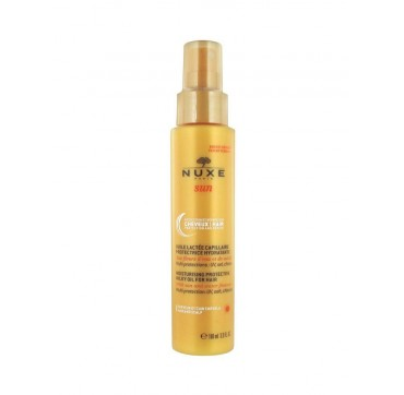 NUXE MOISTURIZING PROTECTIVE MILKY OIL ΓΙΑ ΜΑΛΛΙΑ 100ml
