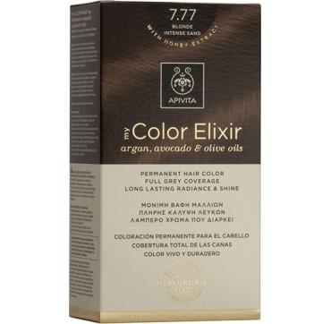 Apivita My Color Elixir N7. 77 Ξανθό Έντονο Μπεζ 1τμχ