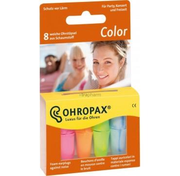 Ohropax Ωτοασπίδες Color Snr: 35 Db 8τμχ