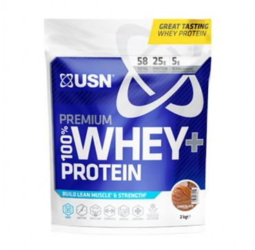 Usn Nutrition 100% Premium Whey+ Protein Chocolate Flavour 2kg