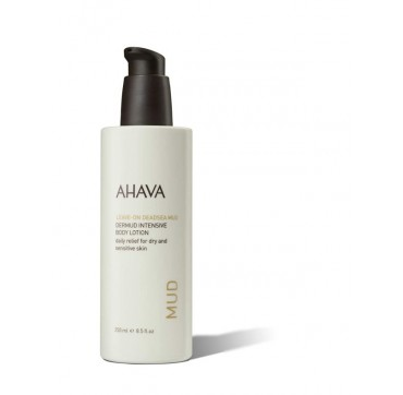 AHAVA Leave-On Deadsea Mud Dermud Intensive Body Lotion Dry/Sensitive Skin 250ML