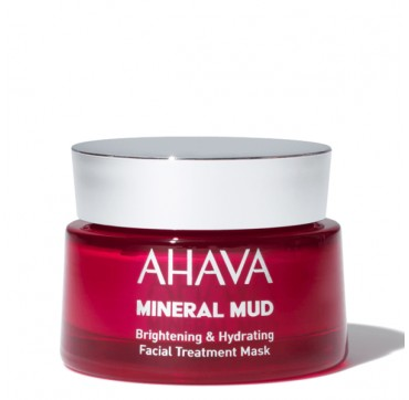 AHAVA Mineral Mud Brightening & Hydrating Facial Treatment Mask 50ML