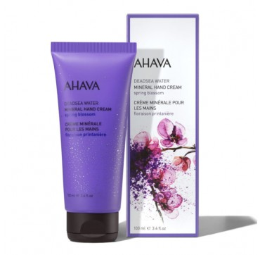 AHAVA Deadsea Water Mineral Hand Cream Spring Blossom 100ML