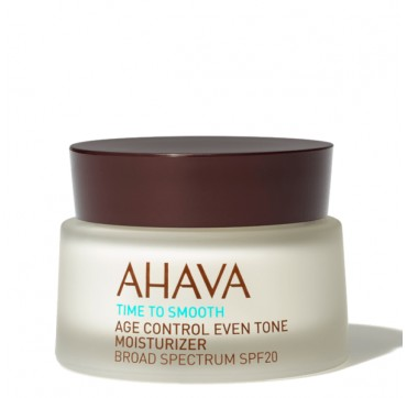 AHAVA Time to Smooth Age Control Moisturizer Broad Spectrum SPF20 50ML