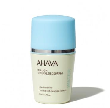 AHAVA Deadsea Water Roll-On Mineral Deodorant For Women - Aluminum Free 50ML