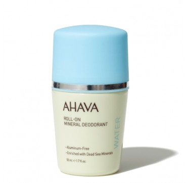 Ahava Deadsea Water Roll-on Mineral Deodorant For Women - Aluminum Free 50ml