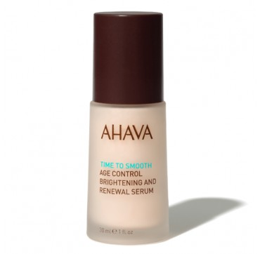 AHAVA Time to Smooth Age Control Brightening & Renewal Serum 30ML
