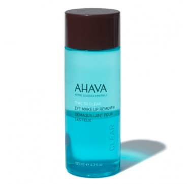 AHAVA Time to Clear Eye Make Up Remover 125ML