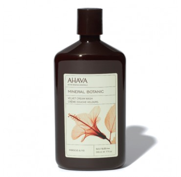 Ahava Mineral Botanic Velvet Cream Wash Hibiscus & Fig 500ml