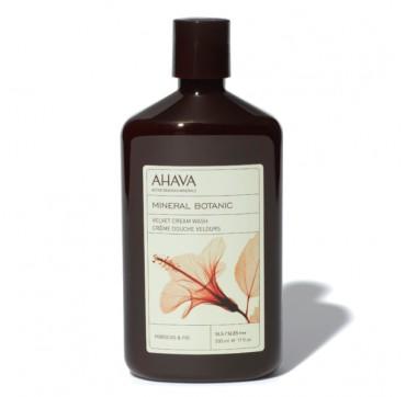 AHAVA Mineral Botanic Velvet Cream Wash Hibiscus & Fig 500ML