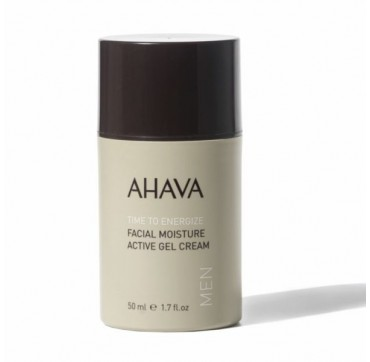 AHAVA Men Time to Energize Facial Moisture Active Gel Cream 50ML