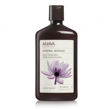 AHAVA Mineral Botanic Velvet Cream Wash Lotus & Chestnut 500ML