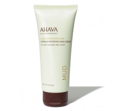 AHAVA Leave-On Deadsea Mud Dermud Intensive Mud Cream Dry & Sensitive Skin Relief 100Ml