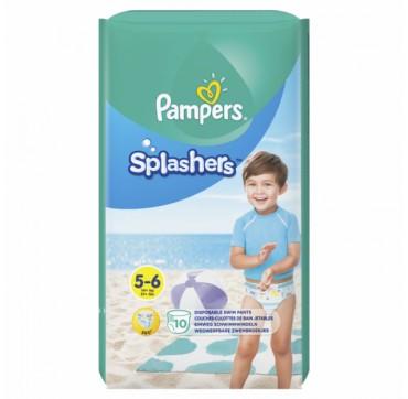 Pampers Splashers 5-6 (14kg+) 10 Πάνες-μαγιό