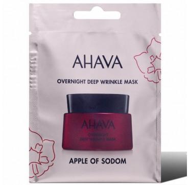 AHAVA Apple of Sodom Overnight Deep Wrinkle Mask Single Use 6ML
