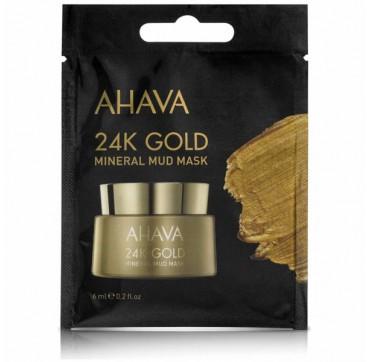 AHAVA 24K Gold Mineral Mud Mask Single Use 6ML