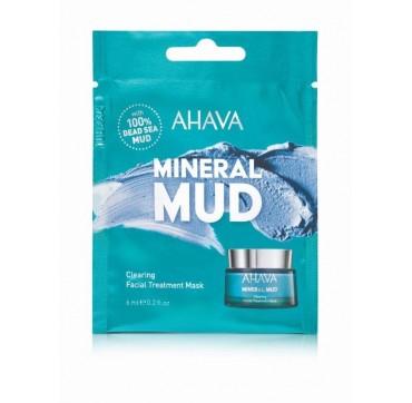 AHAVA Mineral Mud Clearing Facial Treatment Mask Single Use 6ML