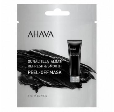 AHAVA Dunaniella Refresh & Smooth Peel-Off Mask Single Use 8ML