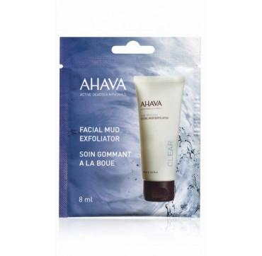 AHAVA Facial Mud Exfoliator Single Use 8ML