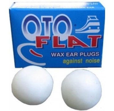 Oto Flat Ωτασπίδες Κέρινες 1 Ζεύγος
