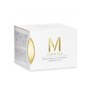 M Cosmetics 24h Face Cream Light 24ωρη Κρέμα Προσώπου Ελαφριά Ύφη 50ml