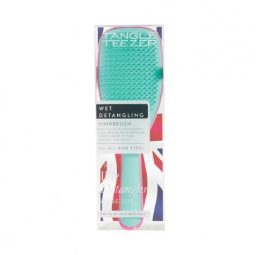 Tangle Teezer Wet Detangling Hairbrush For All Hair Types Large Size Pink/turquoise 1τμχ