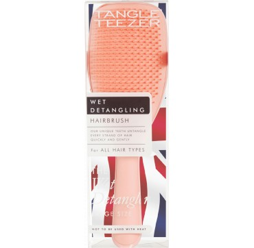Tangle Teezer Wet Detangling Hairbrush For All Hair Types Large Size Peach 1τμχ
