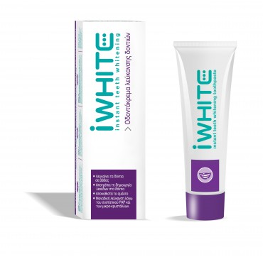 Iwhite Instant Teeth Whitening Toothpaste Οδοντόκρεμα Λεύκανσης Δοντιών 75ml