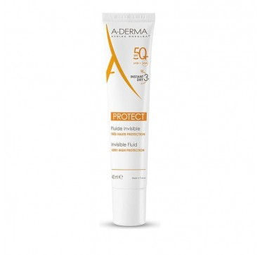 A-DERMA PROTECT INVISIBLE FLUID SPF50+ 40ml