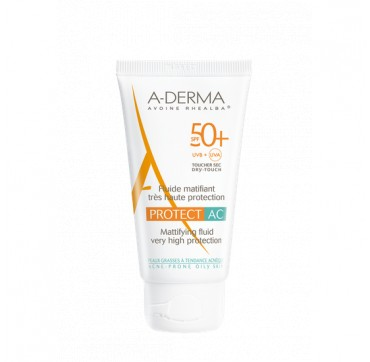 A-derma Protect Ac Mattifying Fluide Spf50+ 40ml