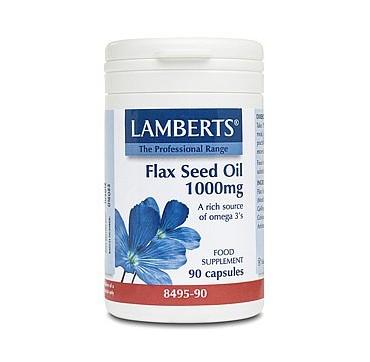 Lamberts Flax Seed Oil 1000mg 90caps